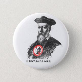 Bóton Redondo 5.08cm Nostradamus diz NOBAMA!