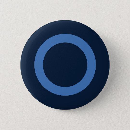 Bóton Redondo 5.08cm Novembro Azul | Blue November