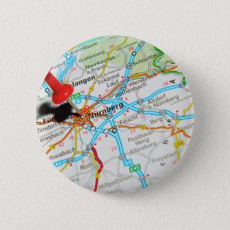 Bóton Redondo 5.08cm Nuremberg, Nürnberg Alemanha
