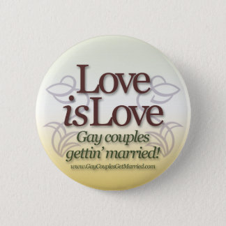 Bóton Redondo 5.08cm O amor é amor