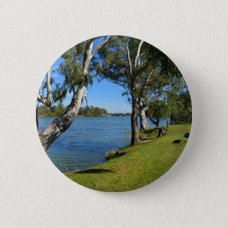Bóton Redondo 5.08cm O banco de parque, Berri, Sul da Austrália,