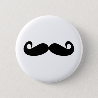 Bóton Redondo 5.08cm o bigode cria rapidamente