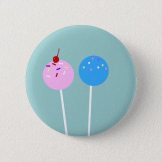 Bóton Redondo 5.08cm O bolo BONITO estala o botão