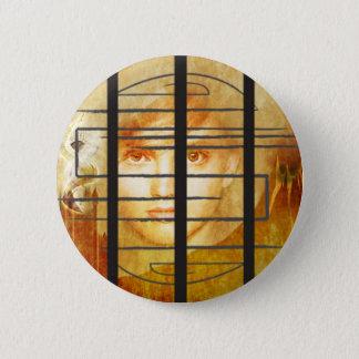 Bóton Redondo 5.08cm O botão da parede do labirinto