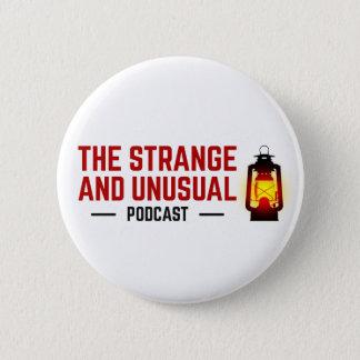 Bóton Redondo 5.08cm O botão estranho e incomum do Podcast