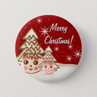 Bóton Redondo 5.08cm O botão o mais bonito do Natal - nunca