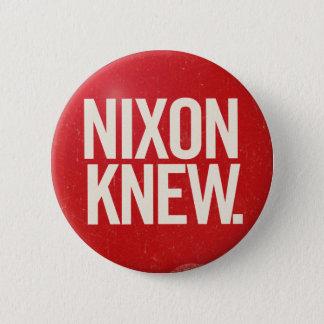 Bóton Redondo 5.08cm O botão político Nixon de Richard Nixon do vintage