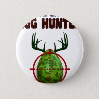 Bóton Redondo 5.08cm O caçador perito da páscoa, cervo do ovo visa o