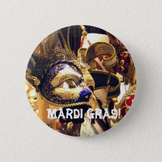 Bóton Redondo 5.08cm O carnaval mascara o botão