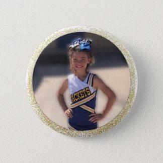 Bóton Redondo 5.08cm O cheerleader adiciona a foto