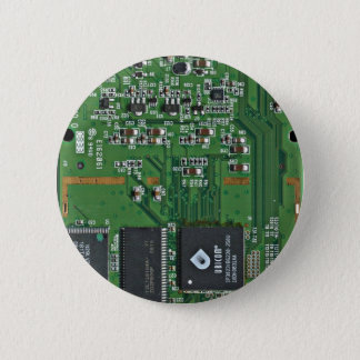 Bóton Redondo 5.08cm O conselho de circuito engraçado