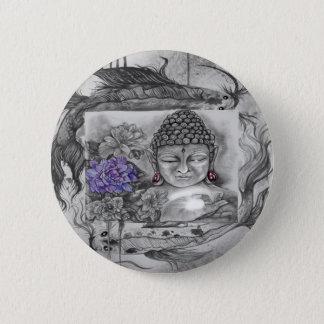 Bóton Redondo 5.08cm O desejo de Buddha