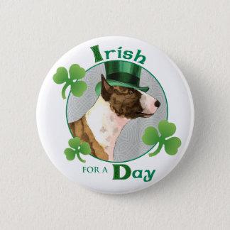 Bóton Redondo 5.08cm O dia mini bull terrier de St Patrick