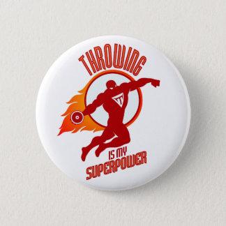 Bóton Redondo 5.08cm o disco de jogo é minha superpotência