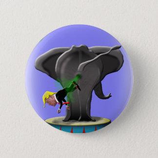 Bóton Redondo 5.08cm o elefante trumping de surpresa