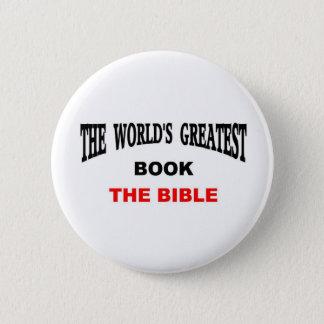 Bóton Redondo 5.08cm O grande livro do mundo