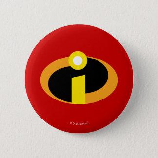Bóton Redondo 5.08cm O logotipo de Incredibles