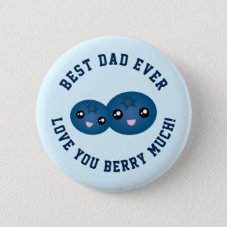 Bóton Redondo 5.08cm O melhor amor do dia dos pais do pai nunca você