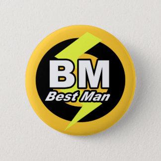 Bóton Redondo 5.08cm O melhor botão do homem