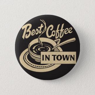 Bóton Redondo 5.08cm O melhor café na cidade