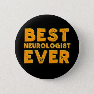 Bóton Redondo 5.08cm O melhor neurologista nunca