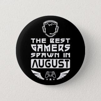 Bóton Redondo 5.08cm O melhor Spawn dos Gamers em agosto