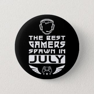 Bóton Redondo 5.08cm O melhor Spawn dos Gamers em julho
