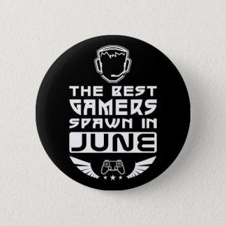 Bóton Redondo 5.08cm O melhor Spawn dos Gamers em junho