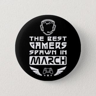 Bóton Redondo 5.08cm O melhor Spawn dos Gamers em março