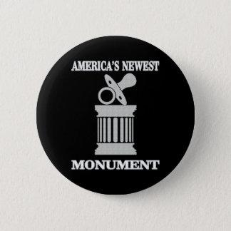 Bóton Redondo 5.08cm O monumento o mais novo do humor | América
