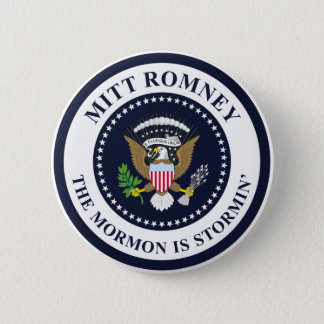 Bóton Redondo 5.08cm O Mormon de Stormin