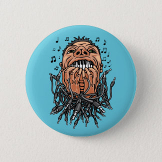 Bóton Redondo 5.08cm o músico joga em seus dentes como no teclado