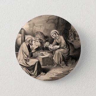 Bóton Redondo 5.08cm O nascimento do cristo