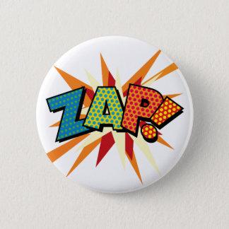 Bóton Redondo 5.08cm O pop art da banda desenhada ZAP!