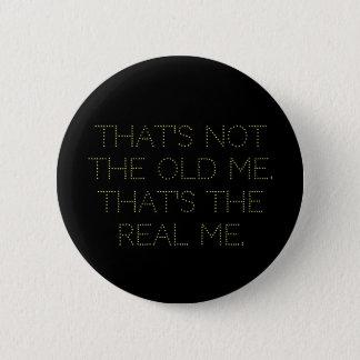 """Bóton Redondo 5.08cm """"o real mim"""" botão"""