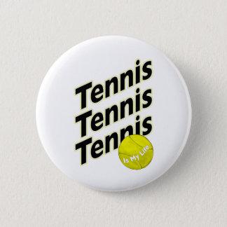 Bóton Redondo 5.08cm O tênis é minha vida