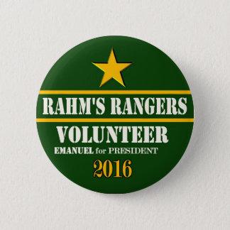 Bóton Redondo 5.08cm O voluntário da guarda florestal de Rahm