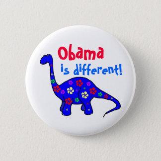 Bóton Redondo 5.08cm Obama é diferente! Botão