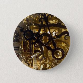 Bóton Redondo 5.08cm Obra-prima do maquinismo de relojoaria