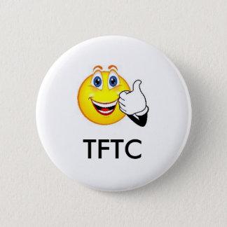 Bóton Redondo 5.08cm Obrigados de TFTC para o Pin de GeoSwag do