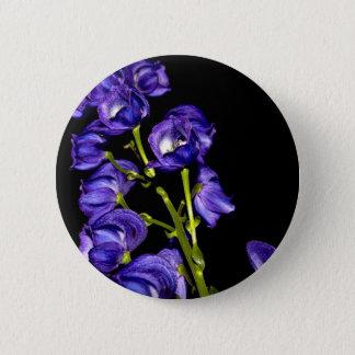Bóton Redondo 5.08cm Obscurece lilás flor
