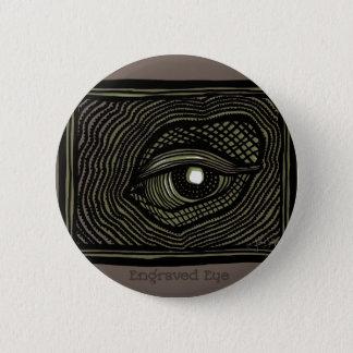 Bóton Redondo 5.08cm Olho gravado