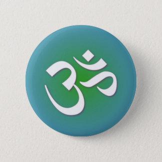 Bóton Redondo 5.08cm OM Hindu - símbolo da meditação