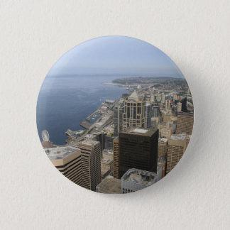 Bóton Redondo 5.08cm Opinião de Arial de Seattle