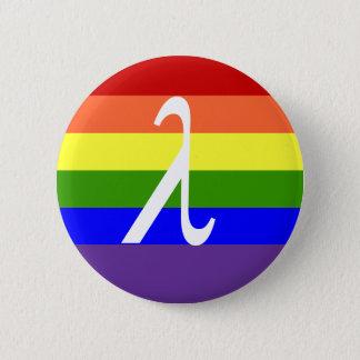 Bóton Redondo 5.08cm Orgulho gay