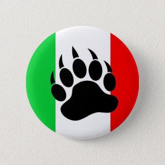 Bóton Redondo 5.08cm Orgulho italiano do urso