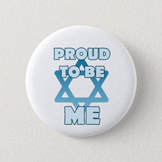 Bóton Redondo 5.08cm Orgulhoso ser judaico