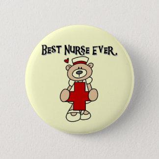 Bóton Redondo 5.08cm Os melhores t-shirt e presentes da enfermeira