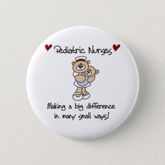 Bóton Redondo 5.08cm Os pediatras dos ursos fazem uma diferença
