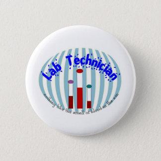 """Bóton Redondo 5.08cm Os presentes da tecnologia do laboratório """" amam o"""